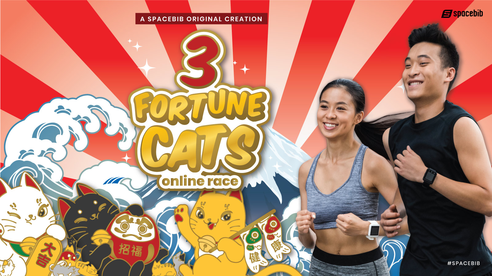 3 Fortune Cats Online Race